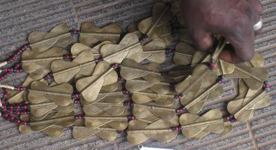 BAULE BRASS BEAD (IVORY COAST)