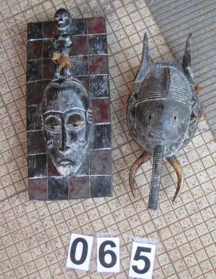BAULE PASSPORT MASK (IVORY COAST)