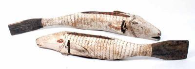 BAMBARA FISH HEADDRESS 100-130CM MALI