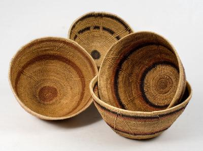 Makenge basket vessel 25-35 (Zambia)