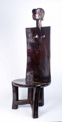 CHAIR FIGURATIVE (TANZANIA) - new stock