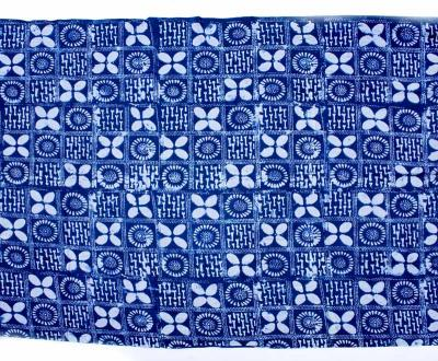 YORUBA ADIRE INDIGO CLOTH 6M (NIGERIA)