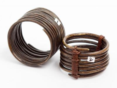 Sidamo upperarm bangle coil (Ethiopia)mp