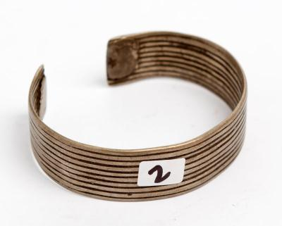 Silver bangle (Ethiopia)