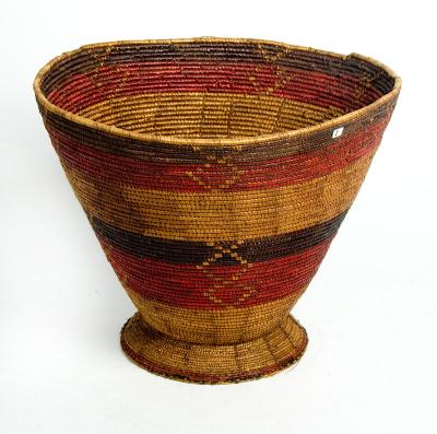 Basket vessel shape (Ethiopia)