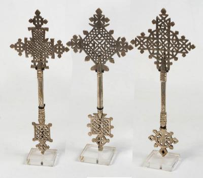 Handcross nickel 24-26cmH(Ethiopia)