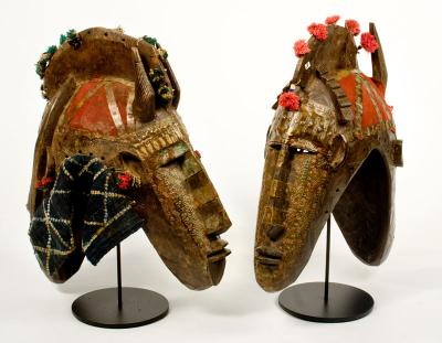 Bambara 'helmet' mask (Mali)