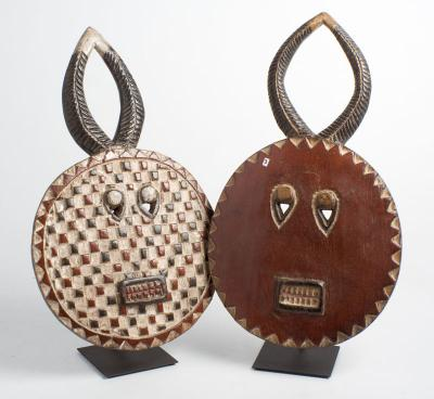 Baule mask M round (Ivory Coast)