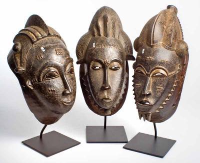 Baule mask (Ivory Coast)