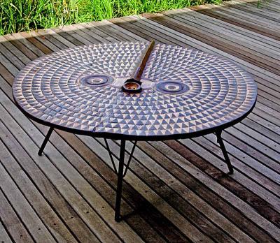 BOBO MOON MASK 105CMD (BURKINA FASO) TABLE
