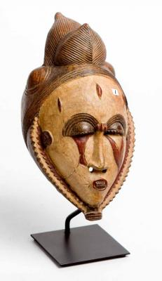 TERRACOTTA MASK (WEST AFRICA)