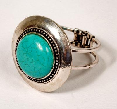 BRACELET-TURQUOISE & SILVER
