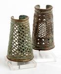 Benin bronze cuff med (Benin)