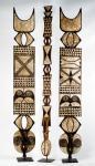 Bwa 'plank' mask 200cmH (Burkina Faso)