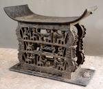 Asanti stool 92H 112L 49W (Ghana)
