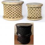 BAMILEKE STOOL +50CMD FANCY (CAMEROON)